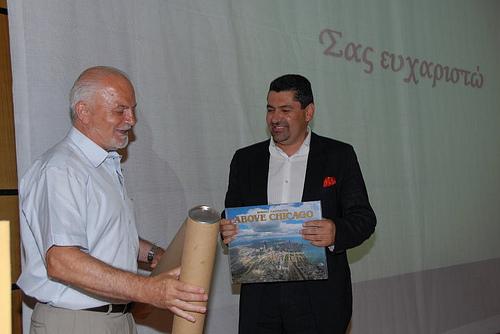 Ο κ.Θανάσης Οικονόμου και ο κ. Δημοσθένης Κουπτσίδηςσε παλαιότερη συνάντηση