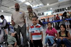 Οικογένεια Αφγαγών στο δρόμο της επιστροφής στην πατρίδα με το πρόγραμμα του Διεθνούς Οργανισμού Μετανάστευσης