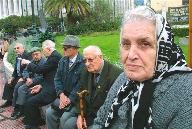 Φωτ.αρχείου από παλαιότερη κινητοποίηση συνταξιούχων στα Προπύλαια