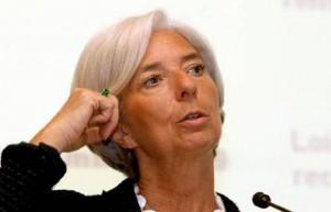 Η γενική διευθύντρια του Διεθνούς Νομισματικού Ταμείου (ΔΝΤ) Κριστίν Λαγκάρντ