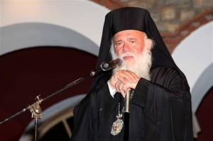 Ο Αρχιεπίσκοπος κ. Ιερώνυμος (φωτό αρχείου)