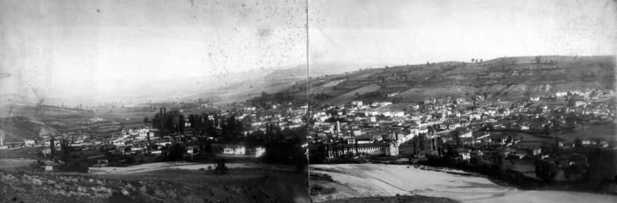 Η πόλη των Γρεβενών το 1905  (Αρχείο Αλέξανδρου Τζιόλα)