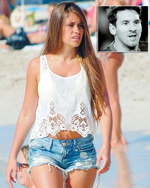 Αντονέλα Ρακούτσο: Αν και μικροκαμωμένη, η σύντροφος του Λιονέλ Μέσι δεν έχει να ζηλέψει τίποτα από τις αναλογίες των σούπερ μόντελ