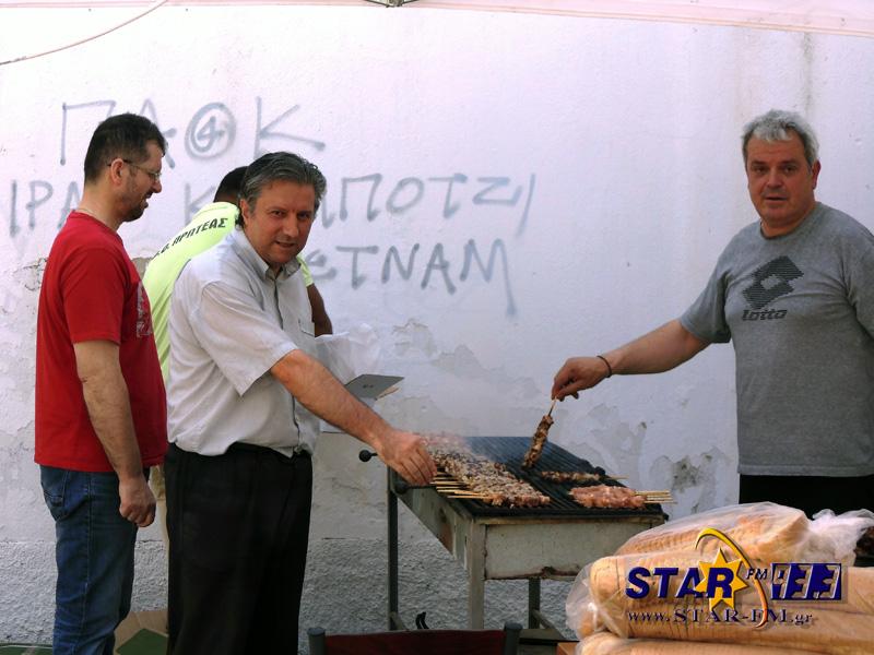 Παρόν και ο υποψήφιος πολιτευτής Γρεβενών Στέλιος Σκόδρας