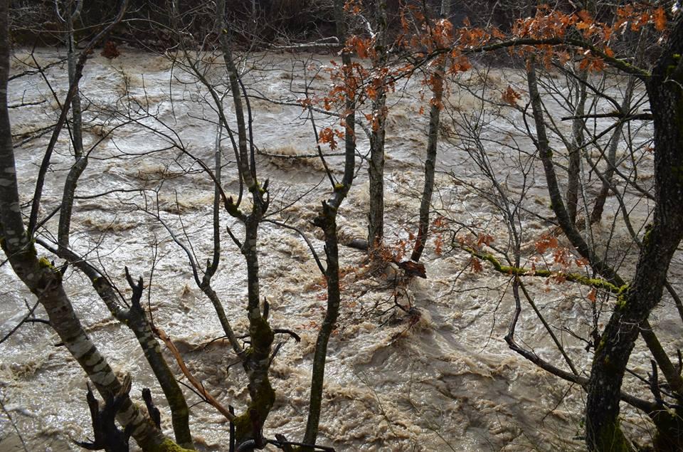 βροχη γρεβενα- ποταμια