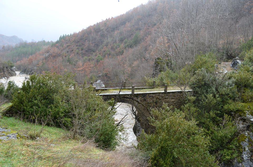 το γεφυρι του Κλεφτη