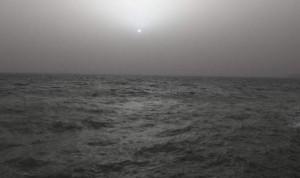 ομιχλη , θαλασσα