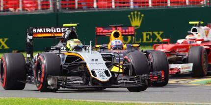 Sergio Perez (MEX) Sahara Force India F1 VJM09. Australian Grand Prix, Saturday 19th March 2016. Albert Park, Melbourne, Australia.