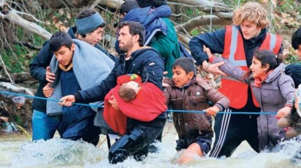 metanastes Μεταναστες