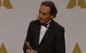 Ευτυχισμένος για την νίκη του ο Ελληνικής καταγωγής Λλεξάντρ Ντεσπλά